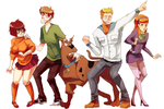 scooby doo by mizz-ninja