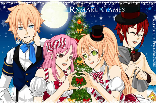 OCs - Christmas Edition (in RinmaruGames) by Lillylulla