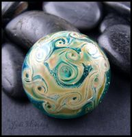 Glass Cabochon - Bermuda by andromeda