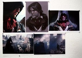 AC Unity/Arno Dorian Appreciation Wall by Aenea-Jones
