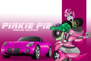 Pinkie Pie the Transformer by Inspectornills