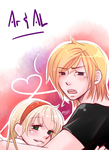 OC-Archer and Alaina by Tare-Hare