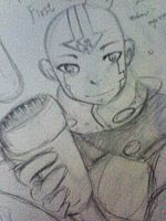 AVATAR AANG frist design by Mike by aogs47777