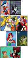 Disney Character Collection by Phobic42