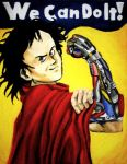 Tetsuo's 'WE Can Do It' by felegund