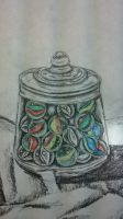 Jar of Marbles by RCR123