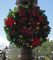 Christmas Wreath IMG 2720 by WDWParksGal-Stock