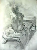 Figure Drawing 2 by sephiroths-muse