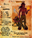 Divine Inferno OCT- NPC Mastema Reference by madlyinlov3