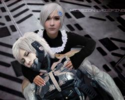 Sunny and Raiden by ProVoltageCosplay