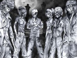 Urban Ink Zombies by FrostyX999