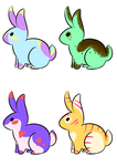 Cheap Bunny Adopt Auction! (CLOSED) by cutevulpix56