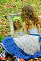 Wonderland in a Mirror... by Dayskyfairy