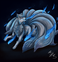 Ninetails used WILL-O-WISP by PyroFishies