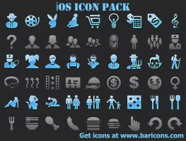 iOS Icon Pack by shockvideo