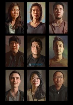 People Portraits by dustsplat