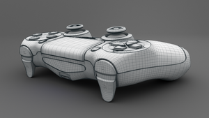 PS4 Controller - Playstation 4 Controller 3D Model by Neubi3D