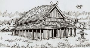 Polforian Longhouse by Shabazik