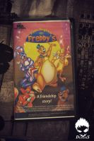 5 Nights at Freddy's VHS Movie Cassette (Front) by Debreks