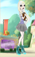 Ever After High OC Ally Grimm Bio by mhanimechick