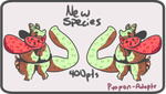 Strawberry Warrior(open) by Pyopon-Adopts