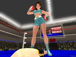 Beaten by Reiko by Tetsuo72