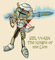 Sir Yvain - Knight of the Lion by RaianOnzika