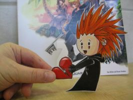 Chibi Axel :Paper Child: by Yuffie1972