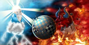 Heven Vs. Hell by Sehad