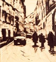 Street in Florence by adasha