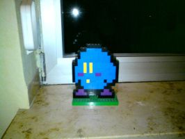 Blue Kirby or Metaknight by GoldenFalchion