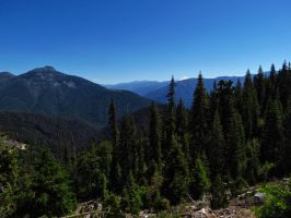 afternoon in the Trinity Alps by Glacierman54