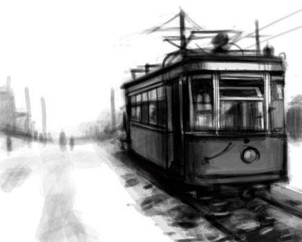 old tram by Mary-Popins