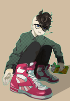 IN11: Megane Fudou by keroro23