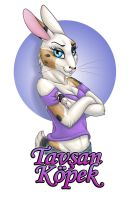 Bunny Badge by PsychicPsycho
