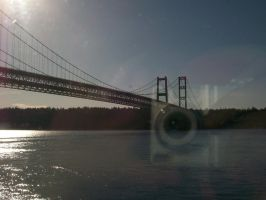 Camera Ghost - Tacoma Narrows by cowgirlscholar