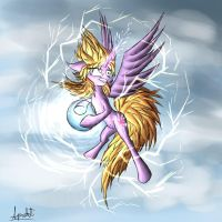 Super Saiyan Twilight Sparkle by Ap0st0l