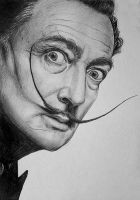 Salvador Dali by LazzzyV