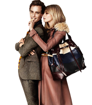 Cara Delevingne and Eddie Redmayne PNG 2 by VelvetHorse