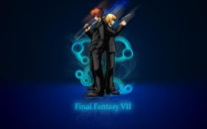 Final Fantasy VII Wallpaper by Tyger18