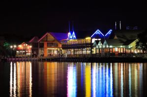 Water front cafe's and dining! by RaynePhotography