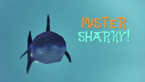 Mister Sharky wallpaper by snwgames