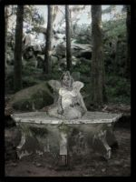Woodland Statue by ShutterBug07