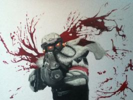 Killzone Helghast by StephysaurusRex
