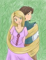 Tangled by keterok