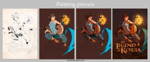Painting process by aConst