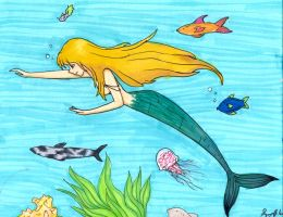 Swimming With the Fishes by lucygoosey13
