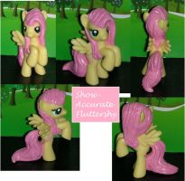 Show Accurate Fluttershy by TianaTinuviel