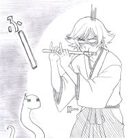 commission. not a snake charmer by maioceaneyes