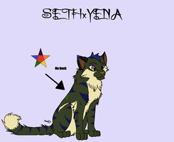 SETHxYena for PlayerPichu by Sterling-Adopts